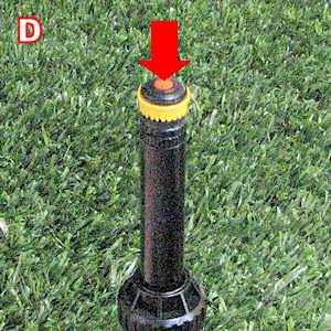 Rainbird 22sa Pop Up Gear Drive Stream Rotor Rotary Nozzle